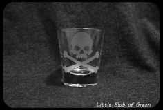 Poison Shot Glass  Pick Your POISON by LittleBlobOfGreen on Etsy, $8.00