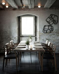 restaurant noma table 468x586 Worlds Best Restaurant Noma to Open in London