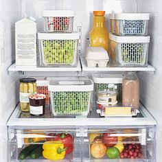 OXO Good Grips® GreenSaver Produce Keeper: The OXO Good Grips GreenSaver Produce Keeper will keep your produce from rotting and spoiling. This innovative produce keeper features non-toxic, activated carbon filters that trap and absorb ethylene gas, which keeps fruits and vegetables fresh longer.