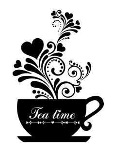 Find Tea Time Cup Floral Design Elements stock images in HD and millions of other royalty-free stock photos, illustrations and vectors in the Shutterstock collection. Coffee Art, Coffee Cups, Tea Cups, Decoupage, Stencils, Diy And Crafts, Paper Crafts, Cup Art, My Tea