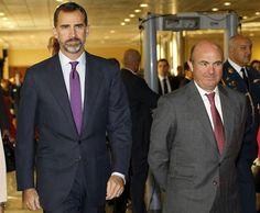 Último acto oficial de don Felipe antes de la visita oficial de los Príncipes de Asturias a California y Florida
