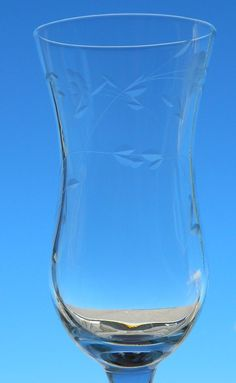 Princess House HERITAGE Crystal Glass Footed Parfait Goblets Stemware  #PrincessHouse