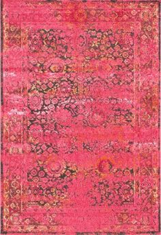 Vintage Pink Shuler Area Rug - NuLOOM - $91.99 - domino.com