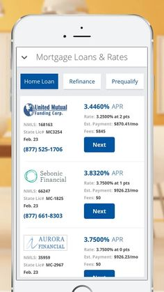 Mortgage  Loan Calculator  Screenshot  Onboarding App