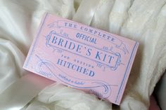 Love this box on etsy!! Such a great gift for the brides in my life this coming year!!