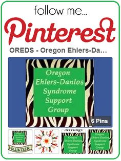 Click here for OREDS - Oregon Ehlers-Danlos Support Group / EDS. Find out everything you've ever wanted to know about the Oregon Ehlers-Danlos Syndrome Support Group!