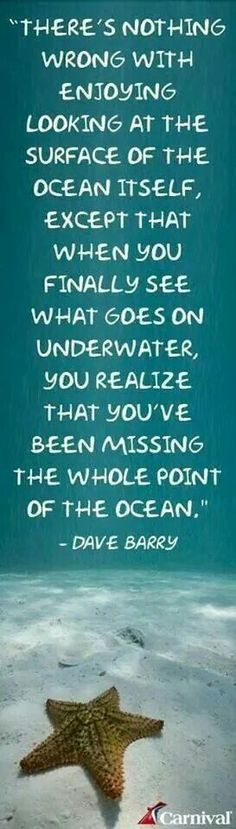 So true! #divedeeper