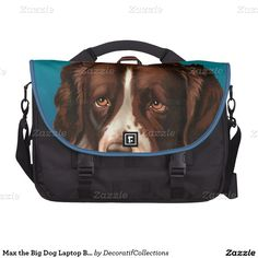 Max the Big Dog Laptop Bag