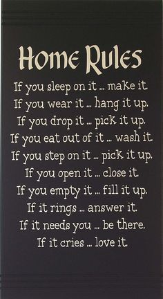 house rules for adults living together - Google Search