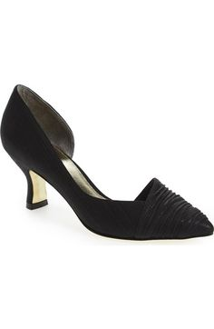 Adrianna Papell 'Harriet' Half d'Orsay Pump (Women) available at #Nordstrom