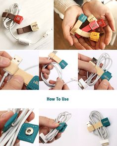 9 Cool and Useful Cable Organizers