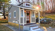 Amazing Charming Farmhouse/Cottage Style Tiny House on 2 Acres - YouTube