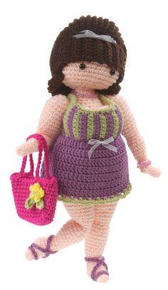 Gourmet Crochet Suzette Doll Pattern - Knitting and crochet yarn, patterns, knitting bags, needles and notions. Crochet Amigurumi, Amigurumi Doll, Amigurumi Patterns, Crochet Dolls, Doll Patterns, Crochet Patterns, Crochet Designs, Cute Crochet, Crochet Crafts