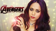 Avengers Age of Ultron | Scarlet Witch Makeup