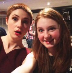 caitlin blackwood and karen gillan
