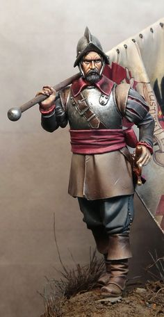 Tercio - Flanders mid c Medieval Knight, Medieval Armor, Conquistador, Renaissance, Thirty Years' War, Landsknecht, Military Figures, Military Modelling, American Indian Art