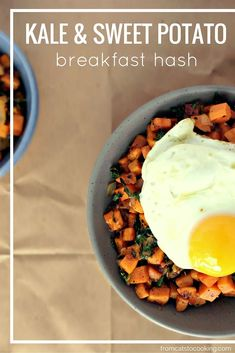 This simple and delicious breakfast hash is Gluten free, Grain free, Dairy free, Vegetarian, Paleo