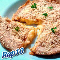 Torta de Rap 10 com molho ao sugo