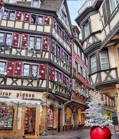Colmar, France showing off this weekend with French Christmas, Christmas Travel, Christmas Villages, Merry Christmas, Christmas Trips, Christmas Mantles, Christmas Markets, Victorian Christmas, Christmas Christmas