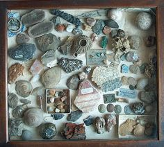 artefacts, rock collection