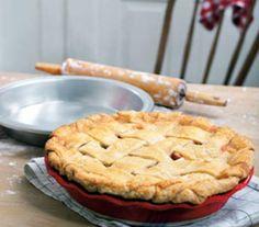 Beth Howard's Double-Crust Rhubarb Pie