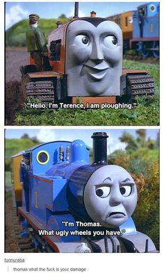 Thomas The Tank Engine Meme Body