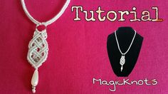 Macrame Celtic Necklace - Pendant  ♥ DIY ♥