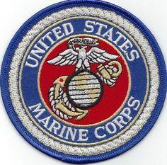 UNITED STATES MARINE'S SYMBOL EGA patch