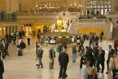 April 2014 - photo of Grand Central Station (Richard Gere yawns while filming in Grand Central and going majorly incognito to literally everyone in the station in NYC)