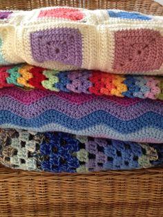 Little Room of Rachell blog - Crochet blankets