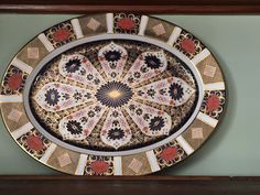 Stunning Best Quality Large Oval Old Imari Oval Platter Royal Crown Derby 1128 #RoyalCrownDerby