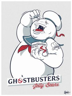 Ghostbusters Jelly Beans