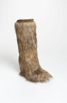 Still searching for the perfect Faux Fur boot but this comes pretty close....