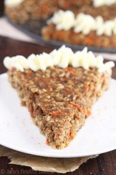 Carrot Cake Oatmeal Cookie Cake