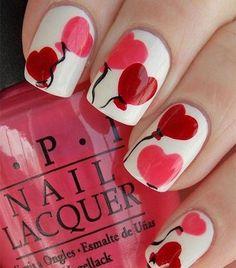 San Valentino 2015 Idee Nail Art