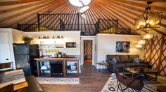 Colorado yurt