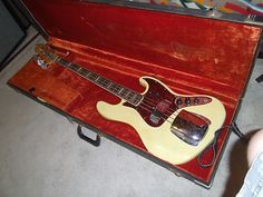1960s Fender Jazz Bass, original not a reissue