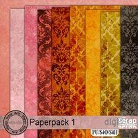 Paperpack Vol. 1 by Happy Scrap Arts