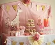 cute set up for baby girls birthday, diy