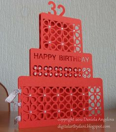 DIGITAL ART by Daniela Angelova: HAPPY BIRTHDAY card