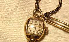 Vintage Women's Bulova Wrist Watch/ 10K Gold by EclairJewelry, $65.00