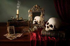The joker by Jordi Berdejo Hades Aesthetic, Gothic Aesthetic, Witch Aesthetic, Vanitas Paintings, Vampire Castle, Tarot, Petit Tattoo, Dark Evil, Hades And Persephone