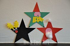 Christmas Star Craft for Tots