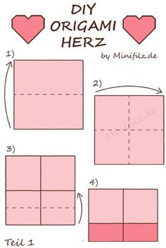 1000 ideas about origami herz on pinterest herz. Black Bedroom Furniture Sets. Home Design Ideas