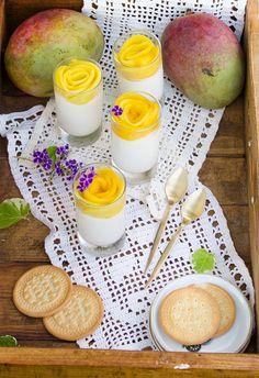 Cheesecake Mousse de Mango - Megasilvita