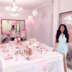 Beautiful Job By EncoreEvents90210 For Olives Shower Princess Birthday Barbie 17th