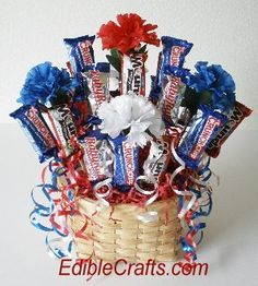 4th of july crafts - DIY centerpieces