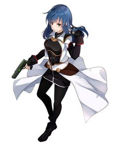 View an image titled 'Maria Traydor Art' in our Star Ocean: Anamnesis art gallery featuring official character designs, concept art, and promo pictures. Female Character Concept, Game Character Design, Cute Anime Character, Fantasy Character Design, Character Art, Anime Girl Neko, Anime Art Girl, Anime Manga, Anime Outfits