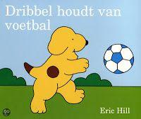 Dribbel houdt van voetbal! een leuk boek bij het thema van de komende kinderboekenweek