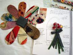 I just got back from a fabulous workshop led by Julie Arkell , a contemporary folk artist who works in papier  mache  and mixed media.     J...